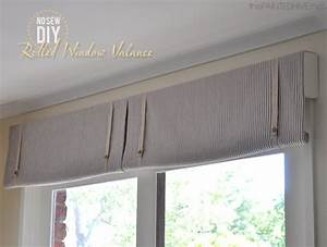 5 diy valance ideas fabulessly frugal With simple window valances