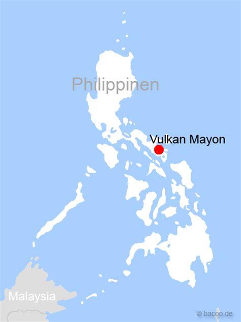 Philippinen Foto - Karte: Vulkan Mayon - Bildergalerie ...