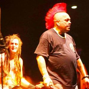 Wattie of the Exploited. Receding Mohawk | The LA Beat  The