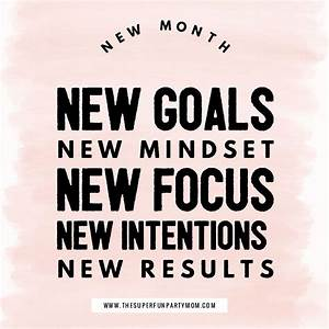 New month, new ... New Targets Quotes