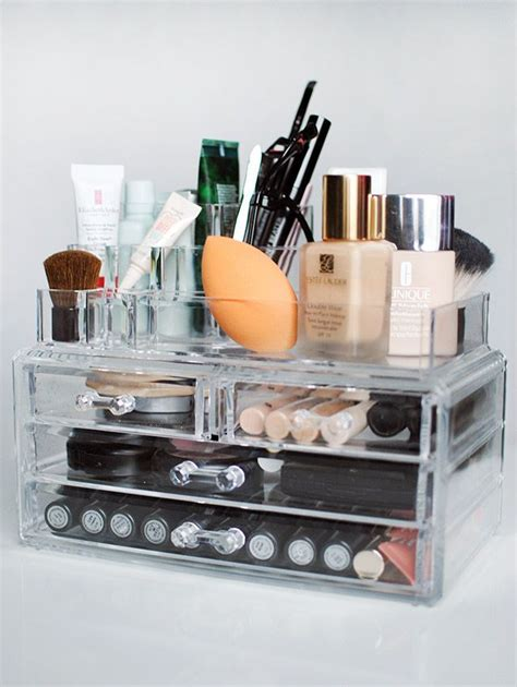makeup storage desk 171 best images about makeup hair storage and organization