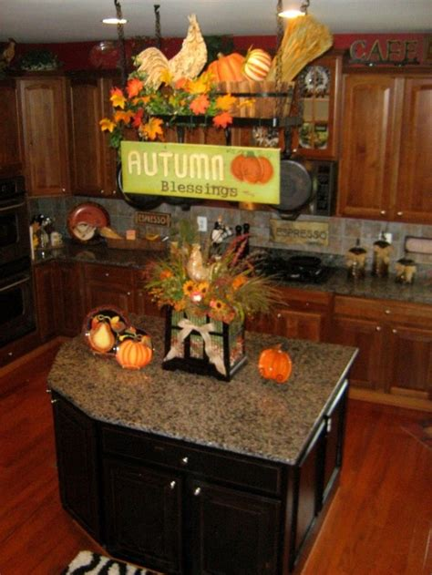 autumn kitchen decor fall decor for kitchen the leaves are falling pinterest