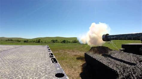 Railgun firing on a range - YouTube