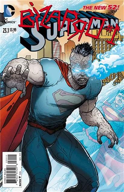 Superman Comics Dc 3d Villains Covers Bizarro