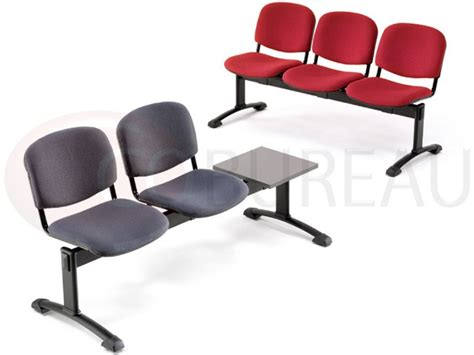 siege poutre siège accueil poutre 3 places smart tissu