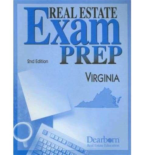 Virginia Real Estate Exam Prep  Dearborn Real Estate Education 9781419511295