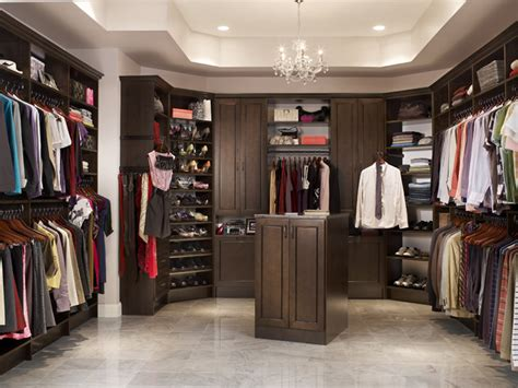 his and walk in closet contemporary closet by
