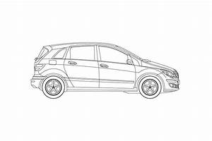 Revit Mercedes Benz B Class Familiy To Bring Scale And Realism To Your Drawings