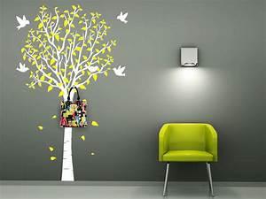 Baum Als Garderobe : wandtattoo garderobe zweifarbiger baum ~ Buech-reservation.com Haus und Dekorationen