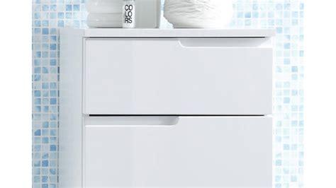Kommode Badezimmer Weiß by Kommode Spice Badezimmer Bad Schrank In Wei 223 Hochglanz