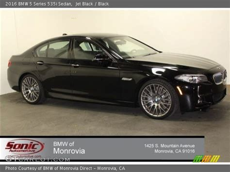 Bmw 5 Series Sedan Photo by Jet Black 2016 Bmw 5 Series 535i Sedan Black Interior