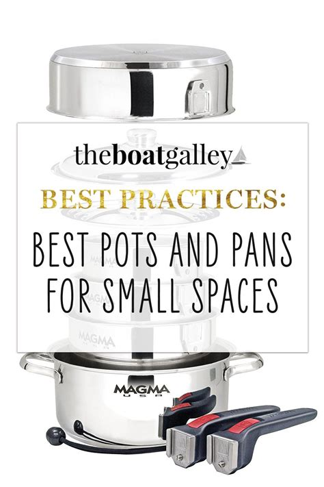 pans boat theboatgalley nesting spaces