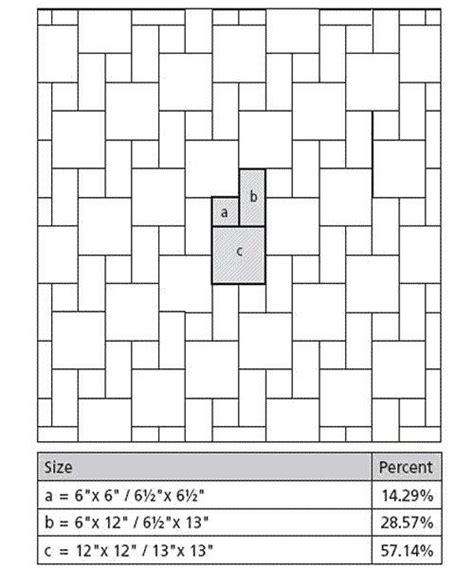 kitchen tile layout patterns 30 best images about floor patterns on 6274