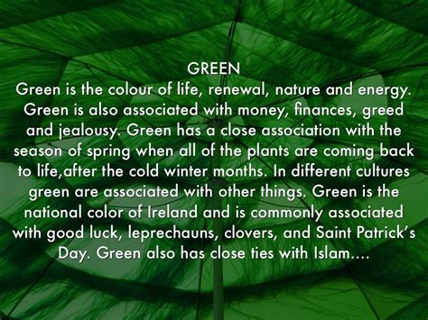 what does the green light mean in the great gatsby colour meanings by henrica burns