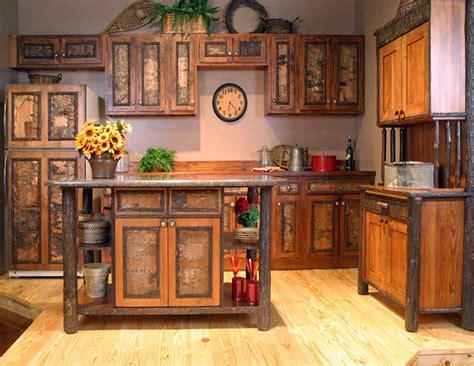 Rustic Kitchen Cabinets Hac0com