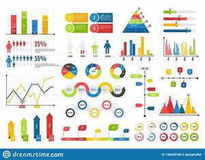 Timeline Infographics With Elements And Icons  Vector