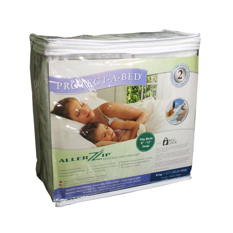protect a bed mattress cover buy protect a bed allerzip mattress cover queen size for