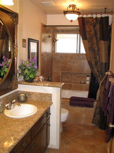 tuscan bathroom glam     love