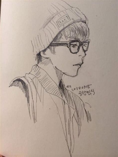 sther xiumin fanart exo art exo fan art kpop