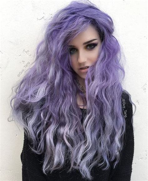 Picture Of Lavender Ombre Hair For Daring Girls