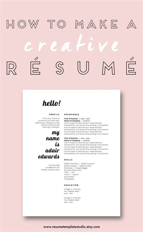 1000 ideas about student resume on marketing