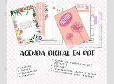 Agenda Digital Escolar 20172018 Para Imprimir $ 6000