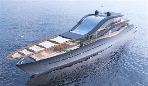 Polish Student Designs Luxury Yachts Polandpl