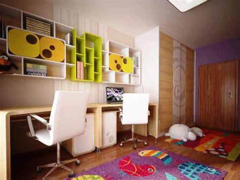 desk for children s room kids room modern plywood study table with colourful book