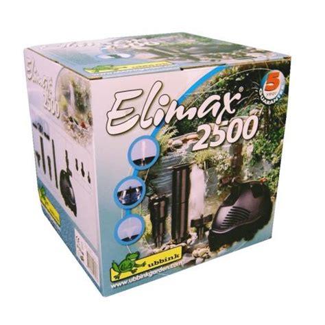 ubbink pompe fontaine elimax 2500 pompe pour cascades et fontaine exterieur achatroyal