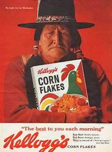 Vintage 1962 Kellogg's Corn Flakes print ad No Trade
