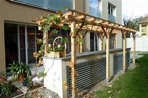 Pergola Elemente Holz : pergola aus holz dekoration und sichtschutz f r garten und terrasse ~ Sanjose-hotels-ca.com Haus und Dekorationen