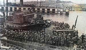 Evacuation at Dunkirk