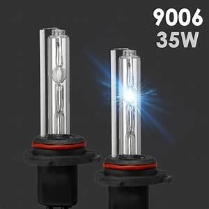 2x Xenon Hb4 9006 Hid Bulbs Ac 35w Headlight Replacement