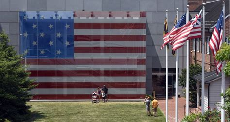 The Great Flag Window Of The Star-spangled Banner Flag