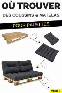 Fabriquer Un Canapé En Palette : o trouver des coussins et matelas pour fabriquer des meubles en palettes palette canap ~ Voncanada.com Idées de Décoration