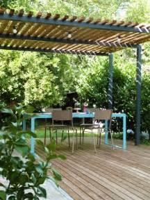 Diy Patio Cover Ideas by Les 25 Meilleures Id 233 Es De La Cat 233 Gorie Pergola Bois Sur