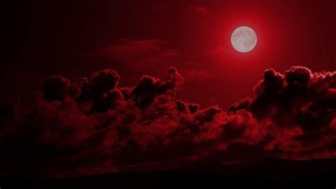 moon cloudy sky hd aesthetic wallpapers hd