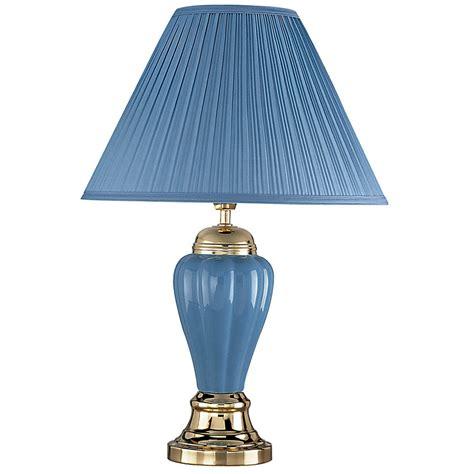 27 quot ceramic table l blue