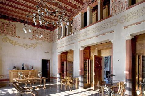 chambre grecque la villa kérylos noblesse royautés