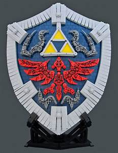 The Legend Of Zelda Twilight Princess Hylian Shield Built