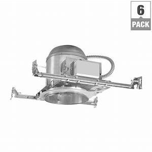 Halo H272 6 In  Aluminum Cfl Recessed Lighting Housing For