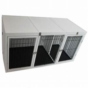 design for wooden multi dog crate pawhut 54quot x 25quot x 27 With dog crates for multiple dogs