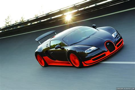 Driving A Bugatti by Bugatti Veyron Sport Breaks Top Speed Record At 268