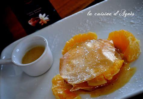 et sa cuisine legere feuillantine à l 39 orange et sa crème légère au rooibos la