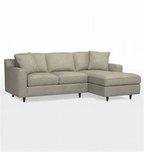 12 ideas of angled chaise sofa for Garrison leather sectional sofa