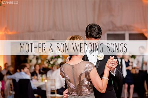 Mother And Son Wedding Dance Songs
