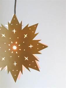 Weihnachtsbaum Basteln Aus Papier : 123 super ideen weihnachtssterne basteln ~ Lizthompson.info Haus und Dekorationen