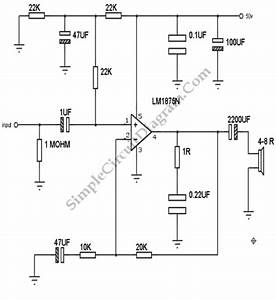 Lm1875 20 Watt Audio Power Amplifier Circuit Diagram World