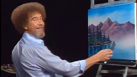 A Nation Turns Its Lonely Eyes To Bob Ross