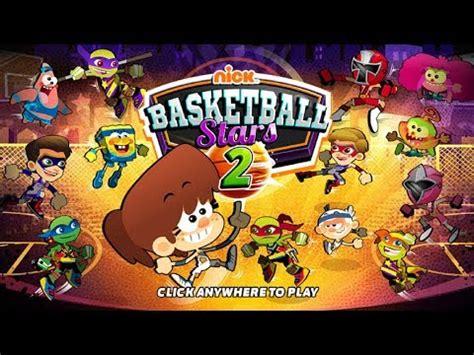 nickelodeon basketball stars  sports game nick